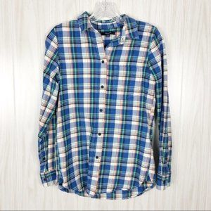 Madewell | Plaid Button Down Shirt